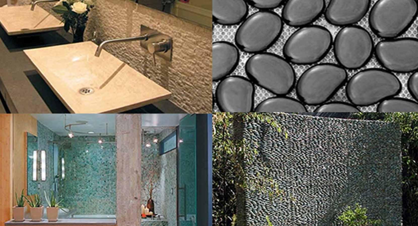 Install glass tile backsplash